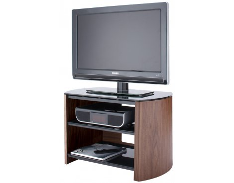 """Walnut Real Wood TV Stand for screens up to 37\"""""""