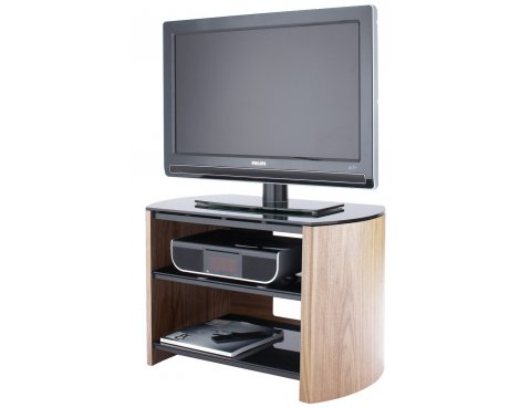 """Light Oak Real Wood Veneer TV Stand for screens up to 37\"""""""