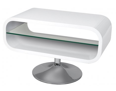 """Opod Brilliant White Stand for TVs up to 32\"""""""