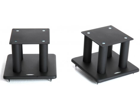 Atacama Speaker Stands in Black - Height 200mm