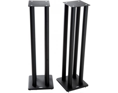 Atacama Speaker Stands in Black - Height 1000mm