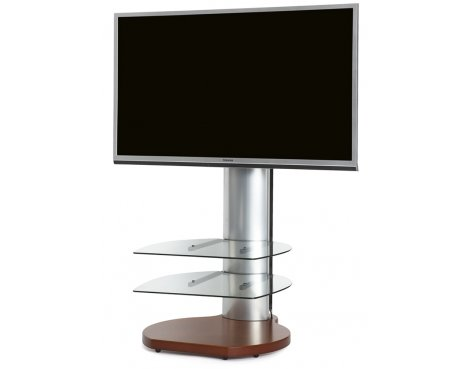 Origin II S4 Flat Panel Cantilever TV Stand In Cherry