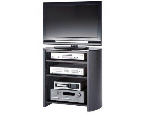 "Black Oak Veneer TV Stand for screens up to 37\"""