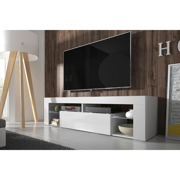 Selsey Sel Hugo Wht Wht Tv Stands
