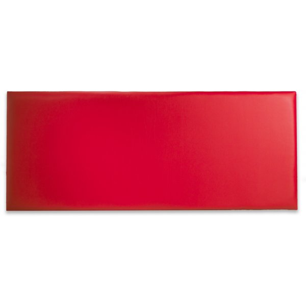 Joseph Naples PU Leather Headboard - Red - Double 4ft6