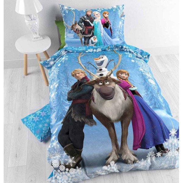 Disney Frozen Smile Duvet Cover Set For Kids - Multicoloured - Single 3ft