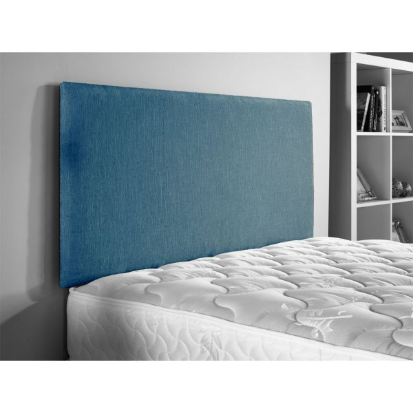 ValuFurniture Doll Chenille Fabric Headboard - Teal - Single 3ft