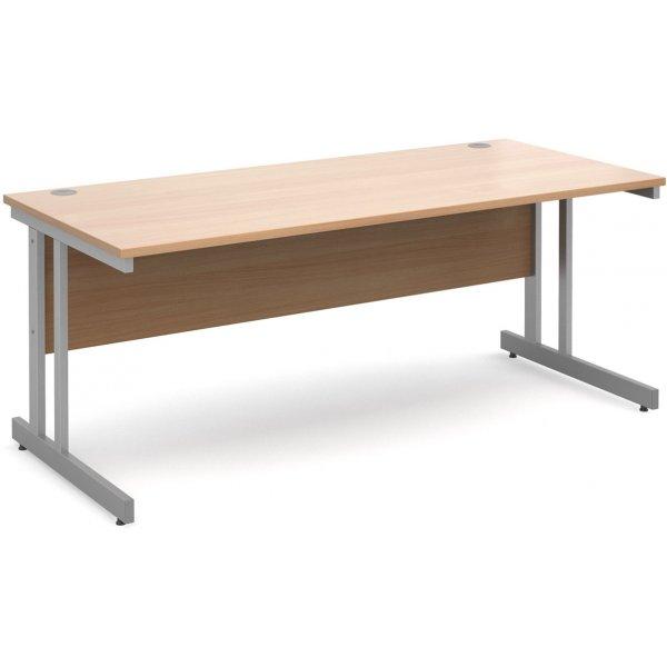 DSK Momento 1800mm Straight Desk - Beech