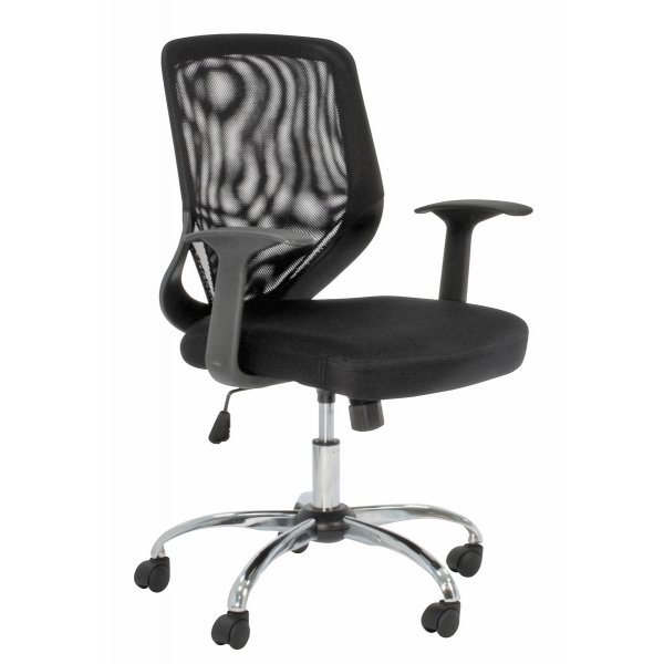 Alphason Atlanta Black Operator\'s Chair