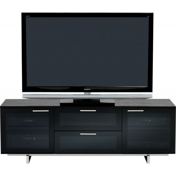 BDI AVION NOIR II 8937 Black TV Cabinet