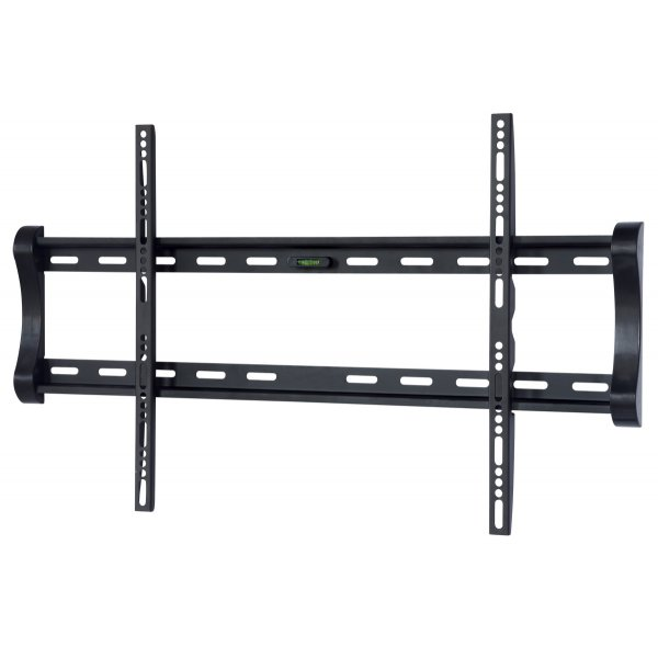 UM122M Black Universal Super Thin Fixed Wall Mount Bracket up to 85""