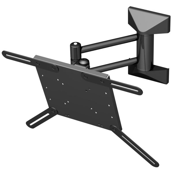 "Black Cantilever Wall Mount for 21"" to 37\"" TVs"