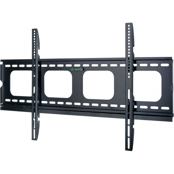 "UM105L Universal Super Thin Fixed Wall Bracket up to 90\"""