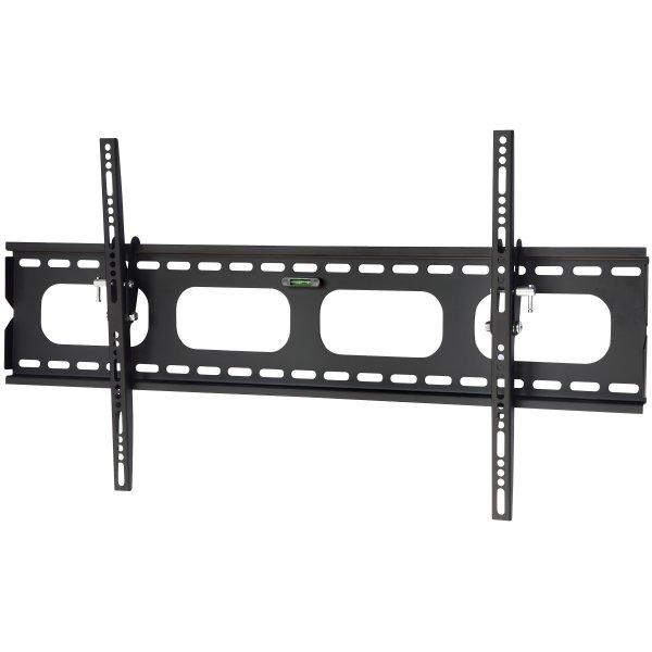 """UM118L Black Universal Slim Tilting Wall Mount for up to 85\"""" TVs"""
