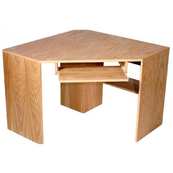 Alphason Oakwood Oak Corner Desk