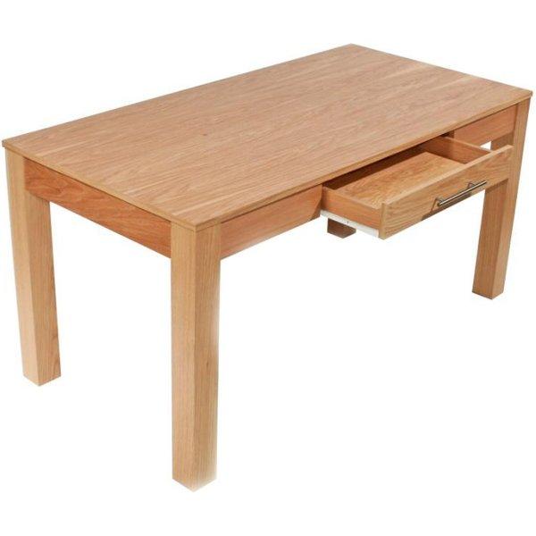 Alphason Oakwood 1500 Oak Rectangular Desk