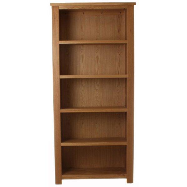 Aston Oak Large Open Bookcase