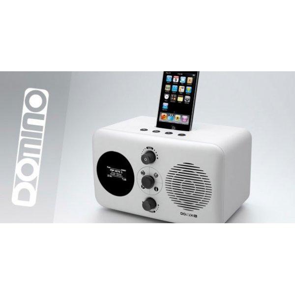Domino D3 ipod Docking Station - White