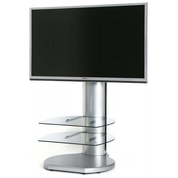 Origin II S4 Cantilever TV Stand In Silver