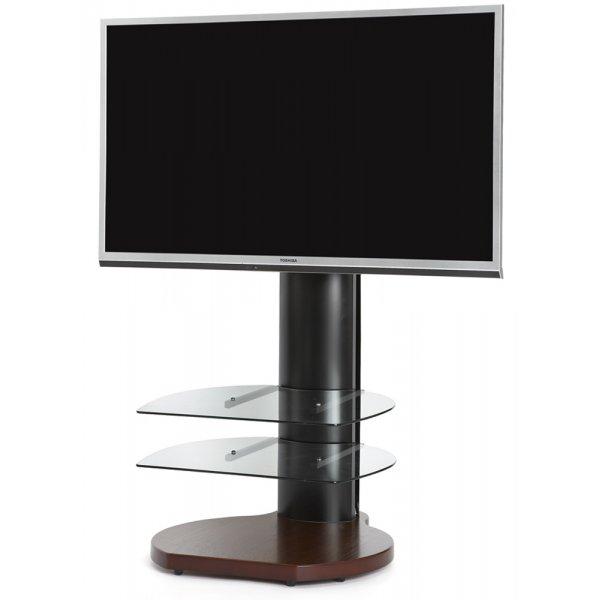 Origin II S4 Flat Panel Cantilever TV Stand In Walnut
