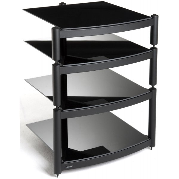 Equinox A.R.C Black 4 Shelf R.S HiFi Stand