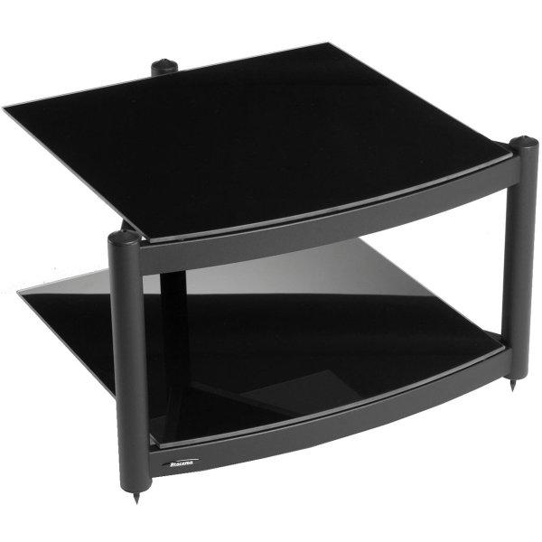 Equinox A.R.C Black 2 Shelf R.S HiFi Stand
