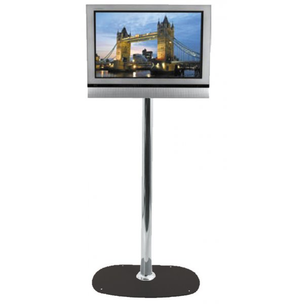 """B-Tech Medium Floor Stand with 1.1m pole for TVs up to 32\"""""""