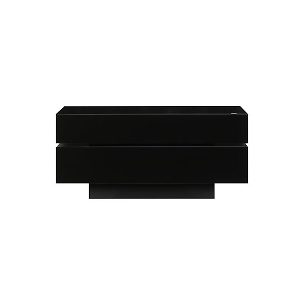 """Spectral Brick Black TV Stand for up to 60\"""" TVs"""