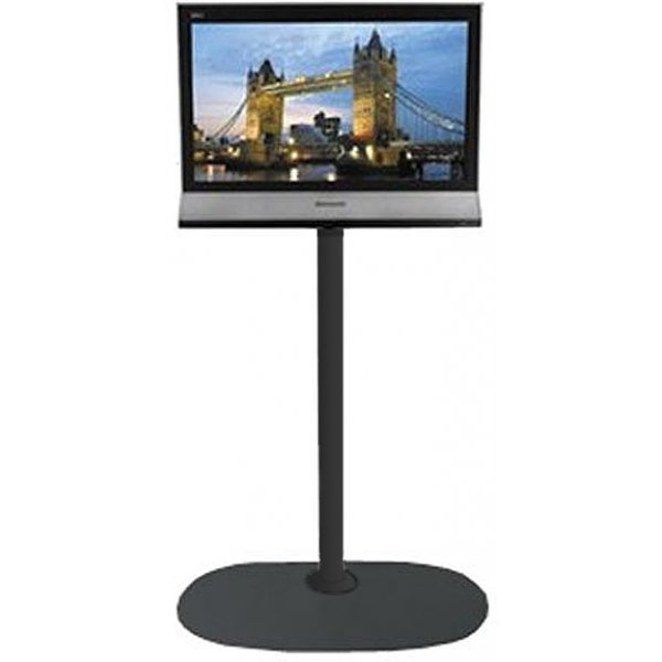 """B-Tech Small Floor Stand with 1.5m pole for TVs up to 26\"""""""