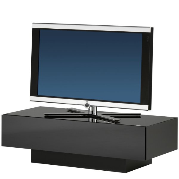 Spectral Brick BR1200 Black Luxury TV and AV Cabinet