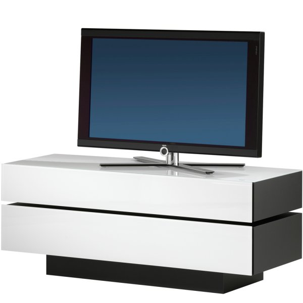 Spectral Brick Luxury White TV and AV Cabinet