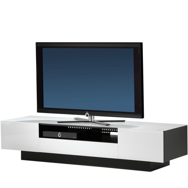 Spectral Brick Luxury White TV and AV Cabinet