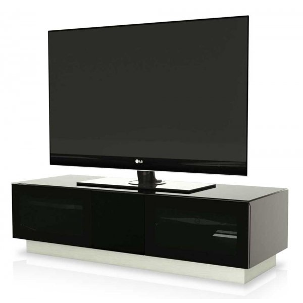 """Alphason Element 1250 Black TV Cabinet for up to 60\"""" TVs"""