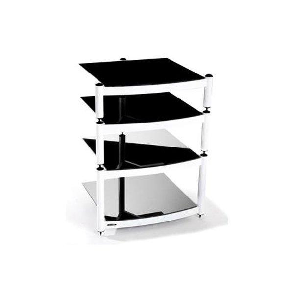 Equinox White 4 Shelf R.S HiFi Stand
