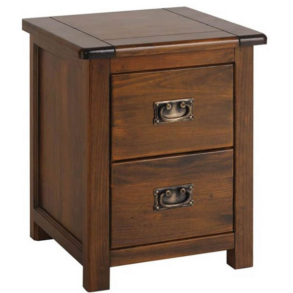 Core Products Boston 2 Drawer Bedside Cabinet