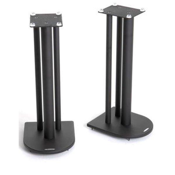 Pair of Speaker Stands in Black - Height 60cm