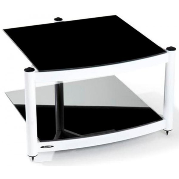 Equinox White 2 Shelf R.S HiFi Stand