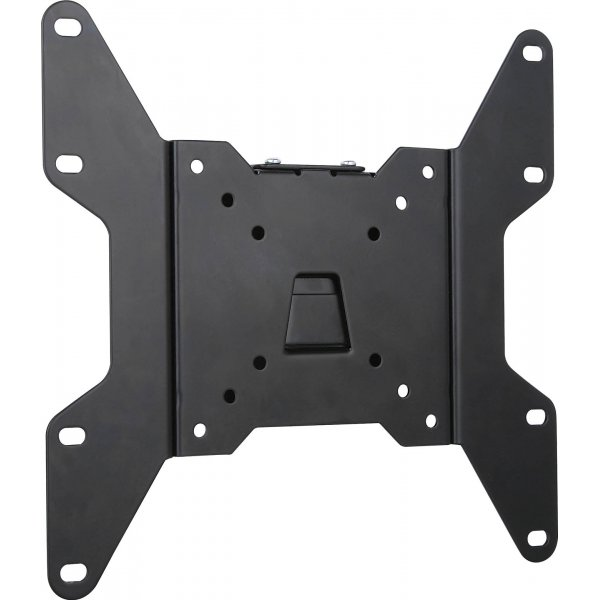 "UM114 Black Flat Fixed TV Wall Mount Plate 15"" - 40\"" TVs"