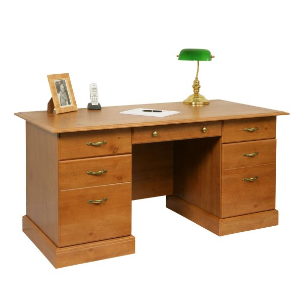 Teknik Office French Gardens Pine Study Desk