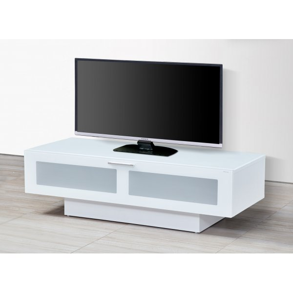 "Stil Stand STUK4001 High Gloss White TV Stand Cabinet For Up To 60"" TVs"