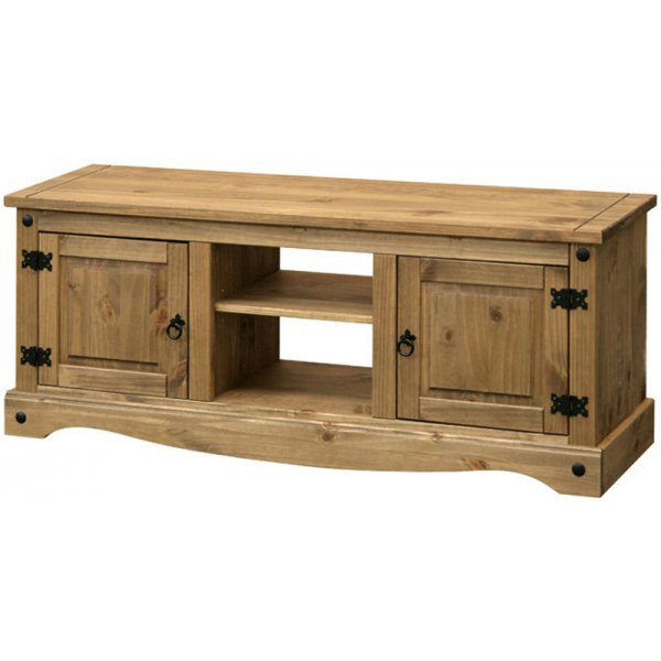 """Core Products CR912 Classic Corona Large TV Unit for up to 60\"""" TVs - Rustic Pine"""