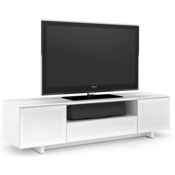 BDI Luxury Nora Gloss White TV Cabinet