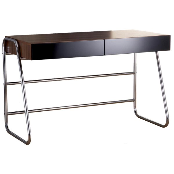Alphason Juo Workstation in Walnut and Black