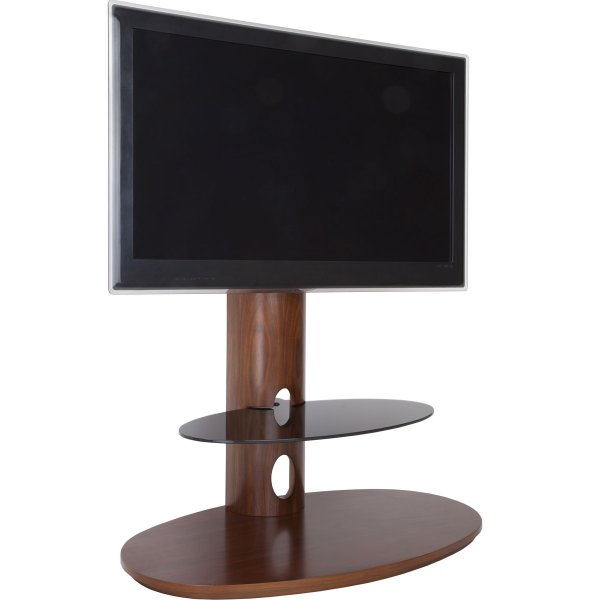 """AVF FSL930CHEW Chepstow Walnut Cantilever TV Stand for up to 65\"""""""