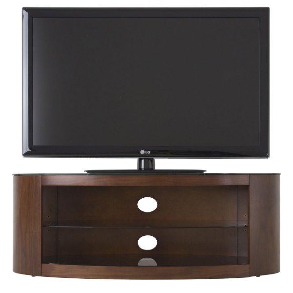 """AVF Buckingham FS1100BUCW Walnut TV Stand for up to 55\"""""""