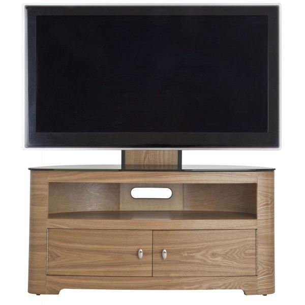 "AVF FSL1000BLEO  Blenheim Oak TV Stand With Mount for up to 65\"""