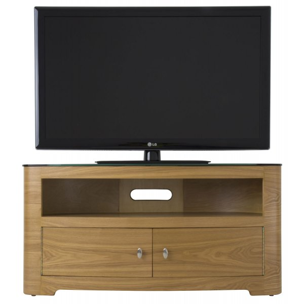 AVF Blenheim 1100 Oak TV Stand for up to 55""