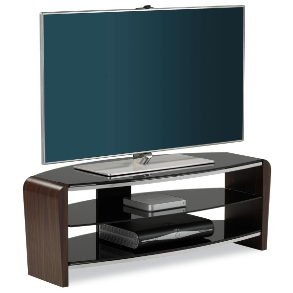 """Alphason Francium 1100 Walnut TV Stand for up to 50\"""" TVs"""