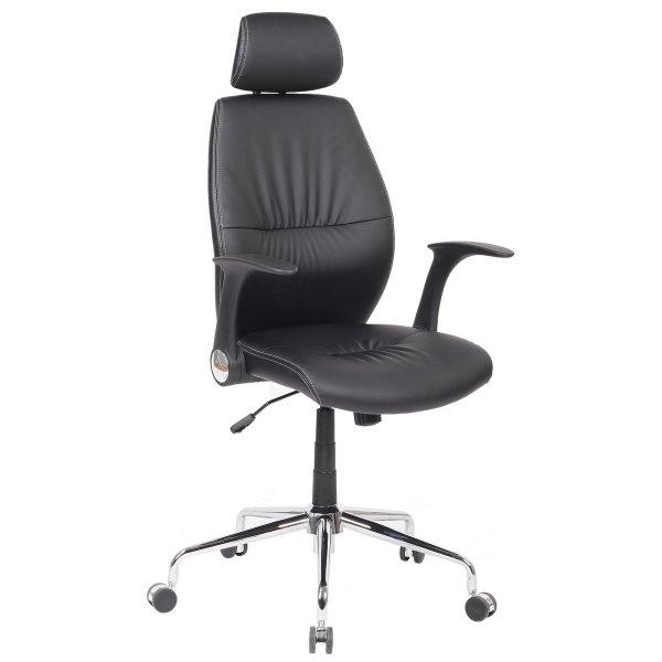 Alphason Parker Black Swivel Manager Chair