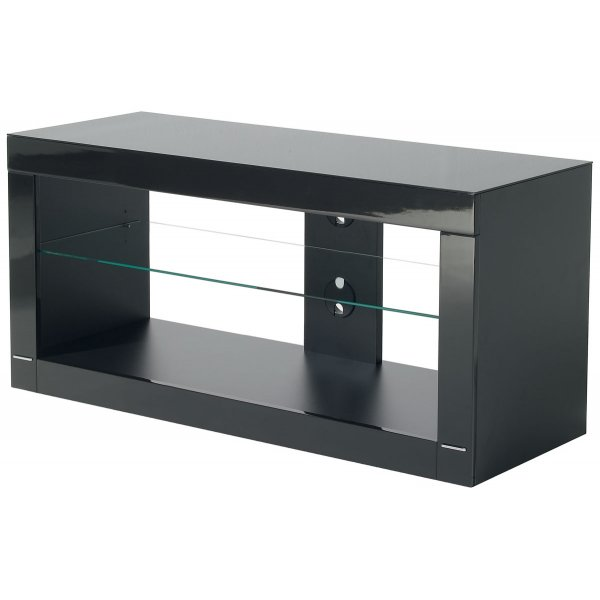 """B-Tech High Gloss Black TV Stand For Up To 50\"""""""